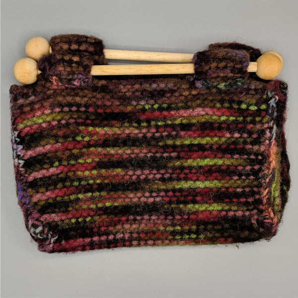 Felted Purse - Knitted Sample - 8 - Handmade