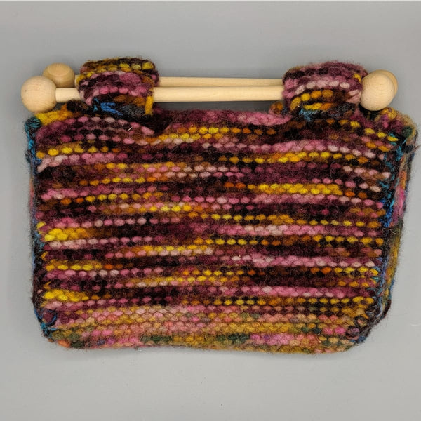 Felted Purse - Knitted Sample - 9 - Handmade