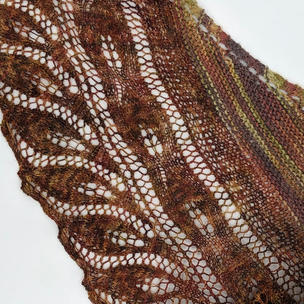 Fibonaccis Great Grandmothers Shawl - Knitting Kit