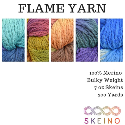 FLAME Yarn - Bulky Weight | Skeino Yarn