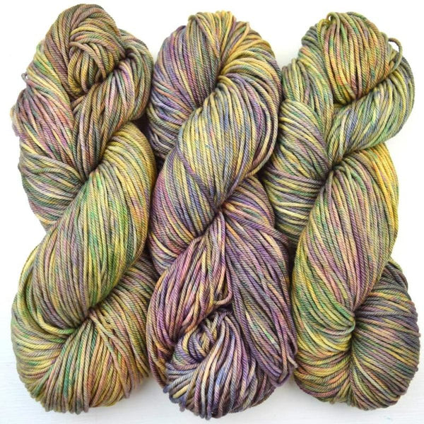FRANCESCA - Worsted Weight - Dusty Flowers - YARN