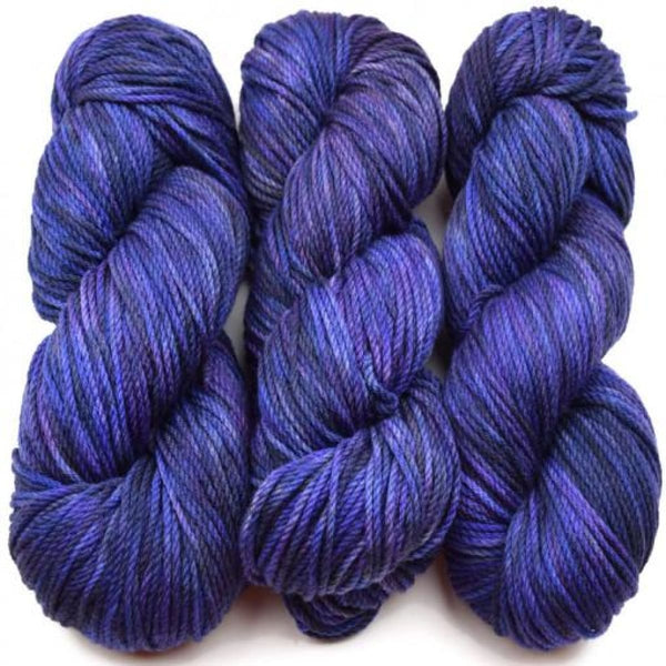 FRANCESCA - Worsted Weight - Purple Iris - YARN