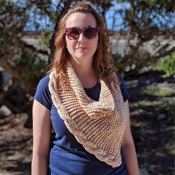 Frosting Cowl - Knitting Kit