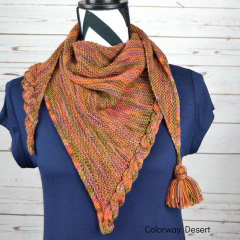 Frosting Shawl - Knitting Kit