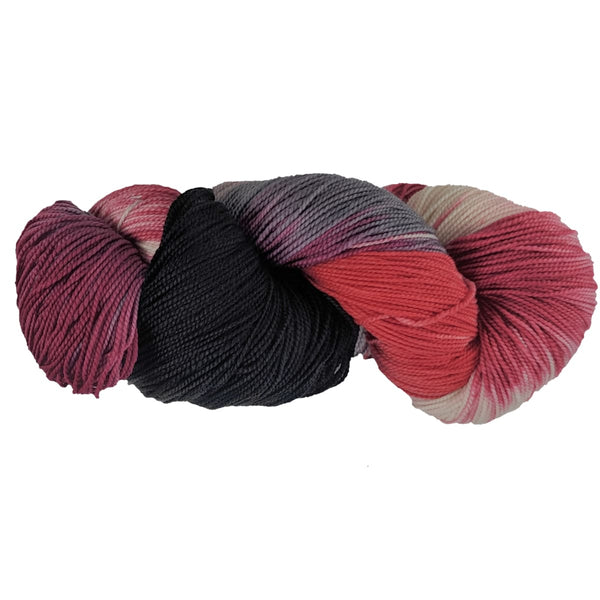 GINA - Fingering Weight - Dragon Fruit - YARN