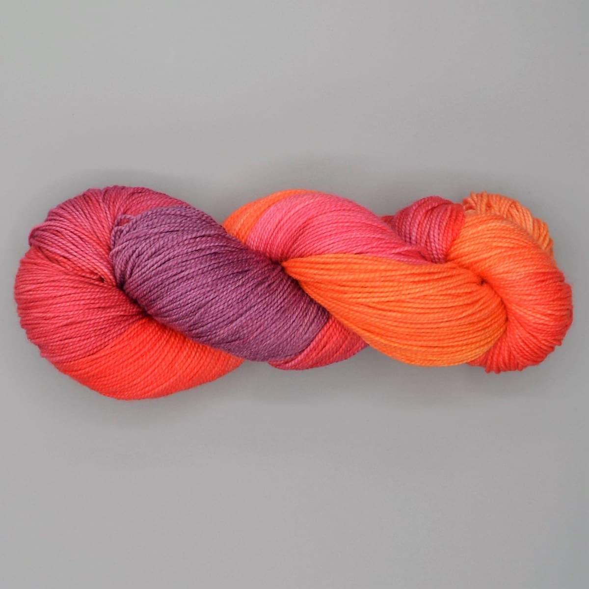 GINA - Fingering Weight - Fire Pastel - YARN