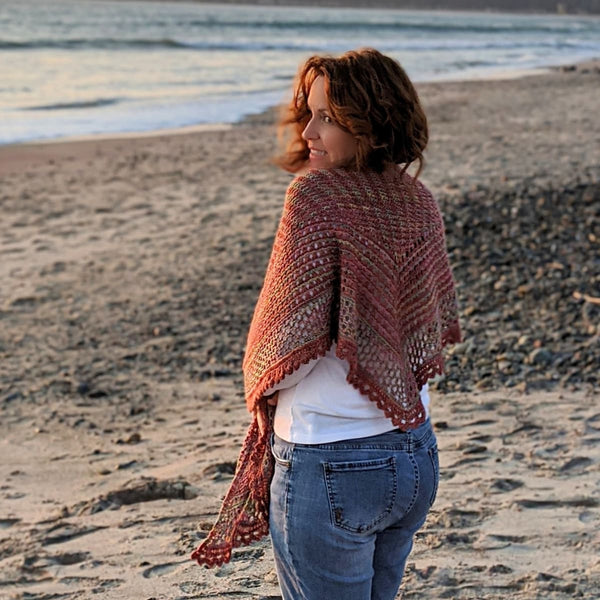 Gokyo Shawl - Knitting Kit