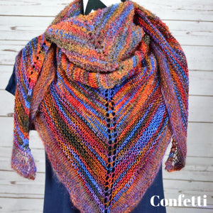 Good Luck Shawl | Skeino Yarn
