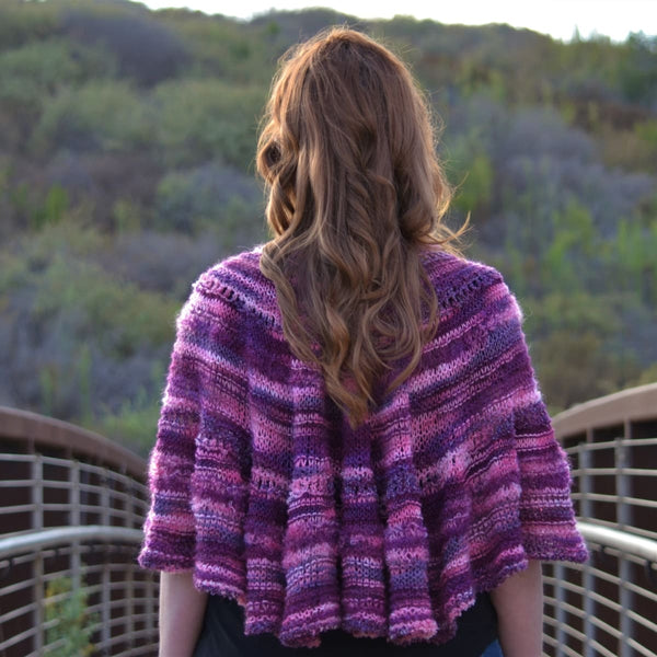 Half Pi Crescent Shawl & Glitter Shrug - Knitting Kit