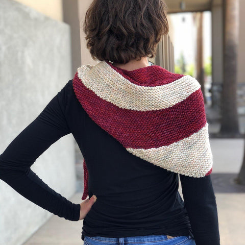 Sweet Treat Shawl - Skeino Yarn