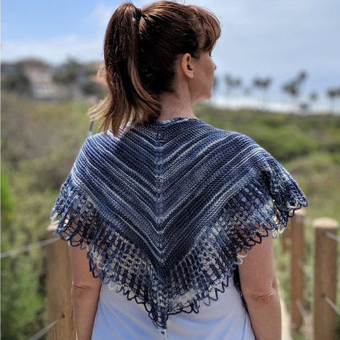 Indecisive Heart Shawl - Knitting Kit