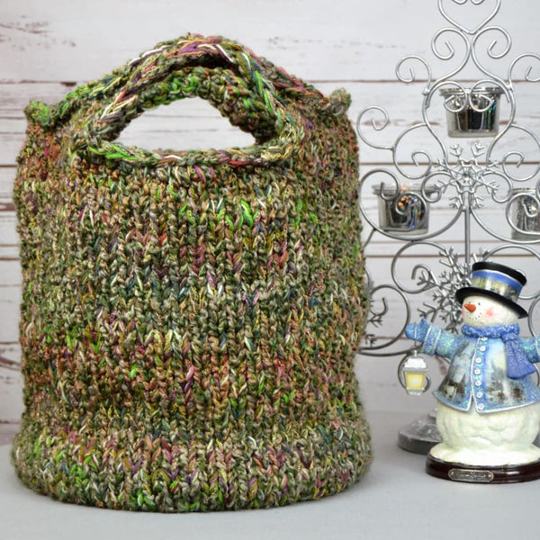 Jumbo Knitted Bag - Knitting Kit