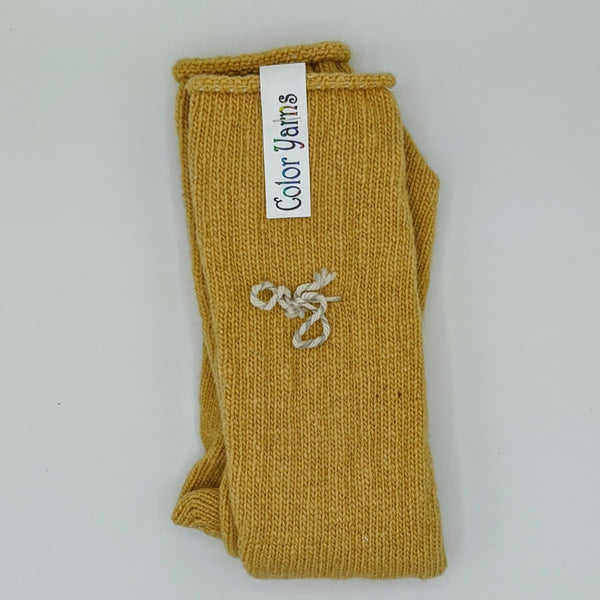 Mens Socks - Machine Knit - Mustard - Handmade