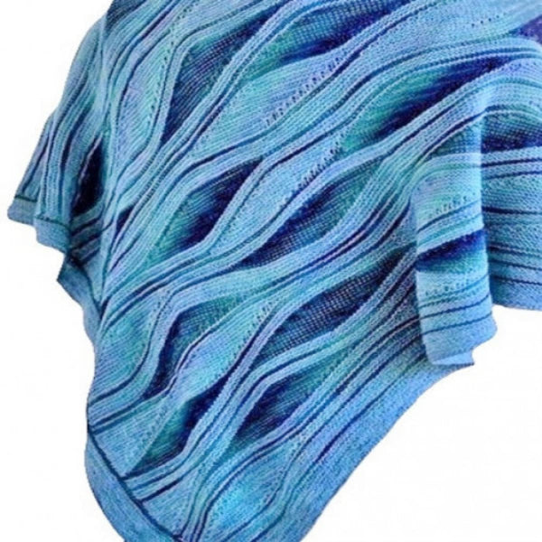 Miss Grace Bamboo Shawl - Knitting Kit