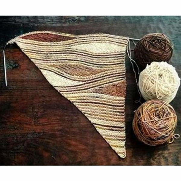 Miss Grace Paola Shawl - Knitting Kit