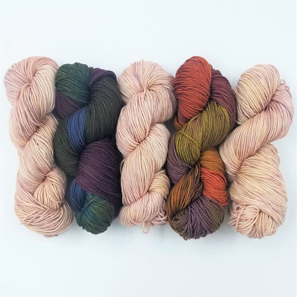 Miss Grace Shawl - Worsted Weight - Knitting Kit
