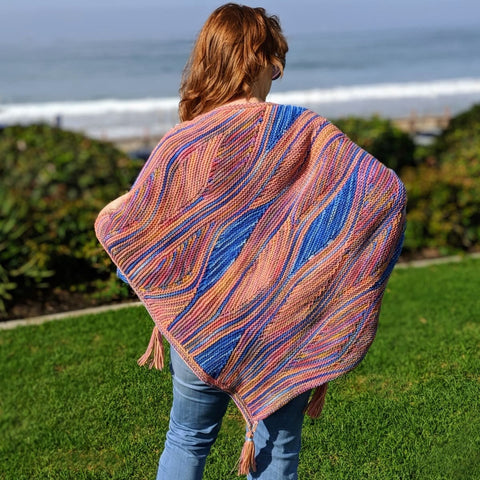 Miss Grace Shimmer Shawl - Knitting Kit