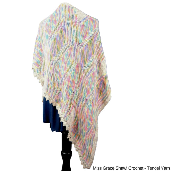 Miss Grace Tencel Shawl - Knitting Kit