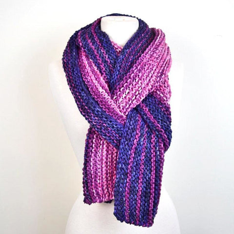 Monica Scarf or Cowl - Knitting Kit