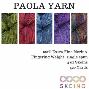 PAOLA - Fingering Weight - YARN