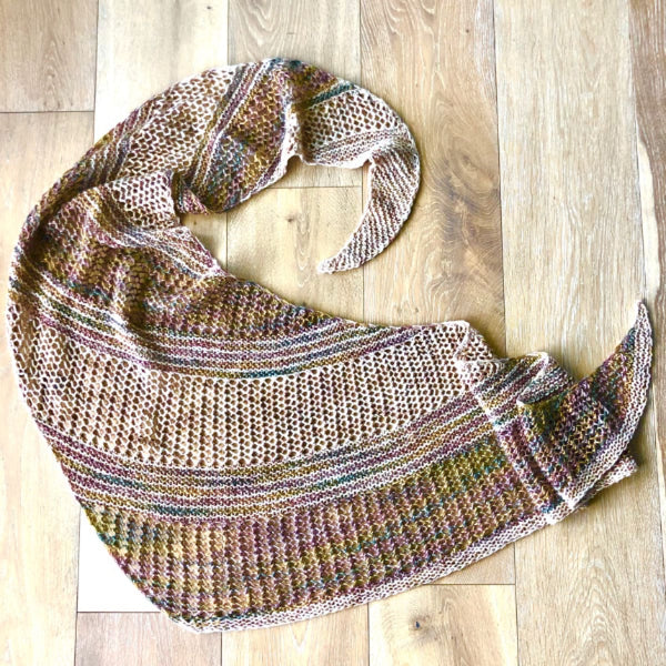 Passionknit Shawl by Ariane Gallizzi - Knitting Kit