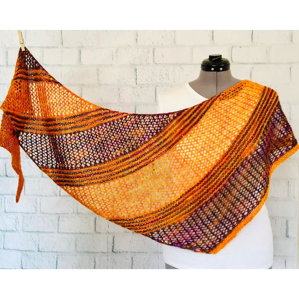 Passionknit Shawl by Ariane Gallizzi - Sunny Day - Knitting Kit