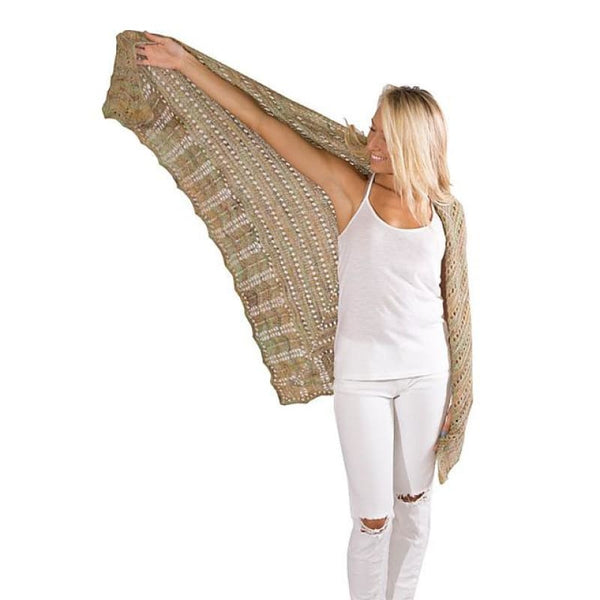 Pretty Shawl - Knitting Kit