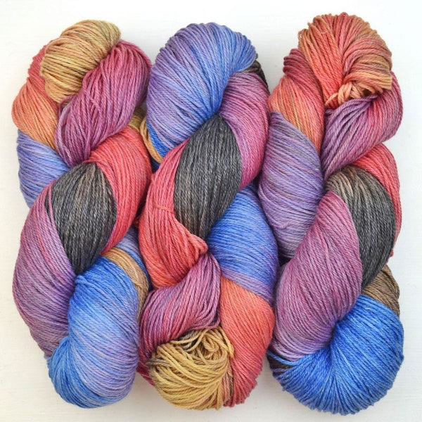 Shimmer - DK Weight Yarn - Madama Butterfly Pastel - YARN