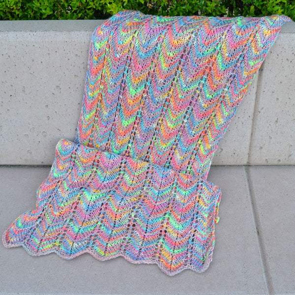 Shorecliff Scarf - Knitting Kit