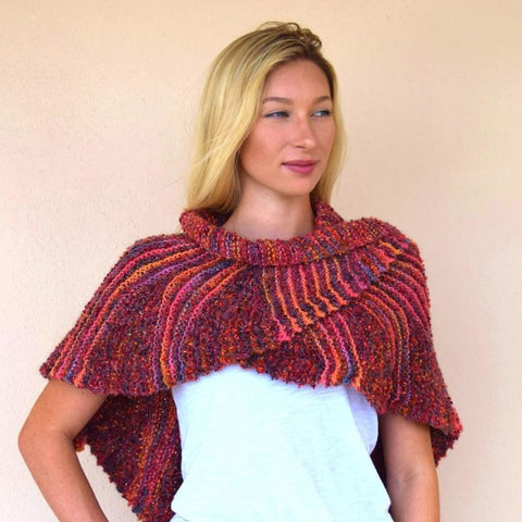 Skirted Shawl - Knitting Kit
