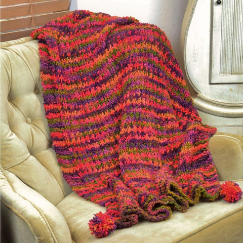 Slip Stitch Blanket - Knitting Kit