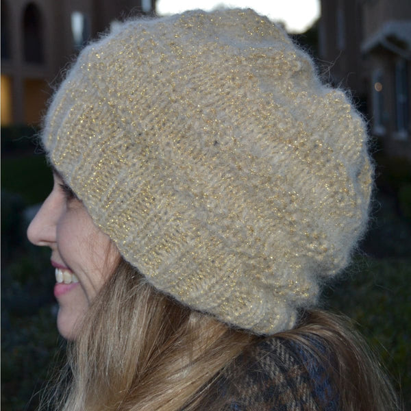 Sparkling Moon Hat & Cowl - Knitting Kit