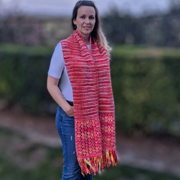 Spring Scarf - Knitting Kit