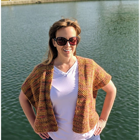 Spring Shrug | Skeino Yarn