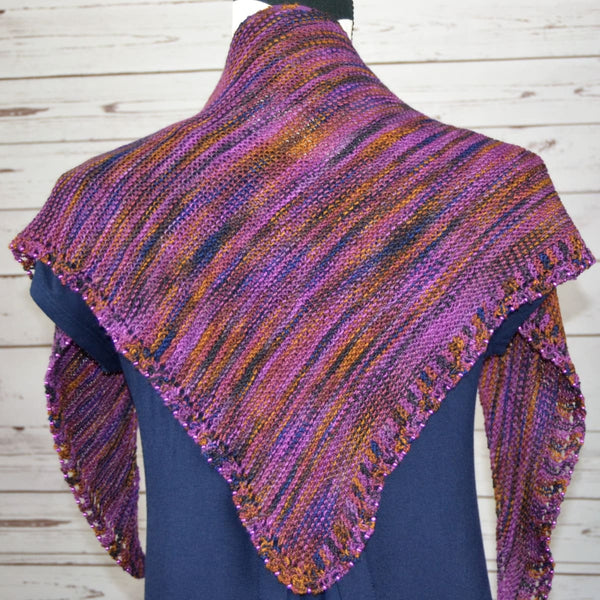 Sunshine Shawl - Knitting Kit