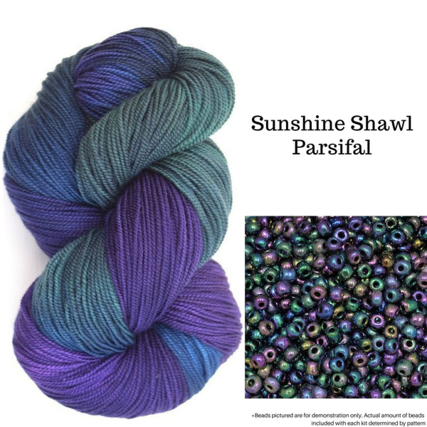 Sunshine Shawl - Parsifal - Knitting Kit