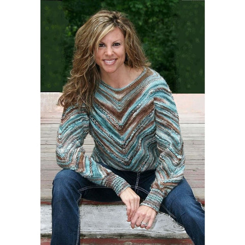 Sweater on the Diagonal - Knitting Kit