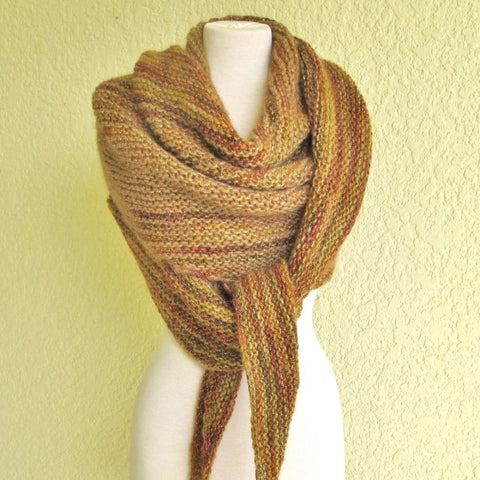 Venice Bias Shawl - Knitting Kit