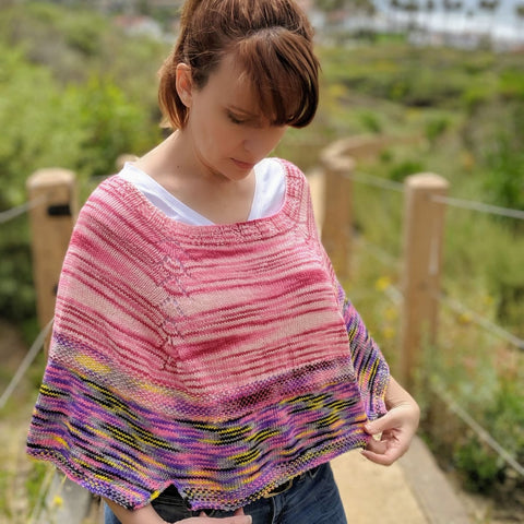 Wallflower Capelet - Knitting Kit