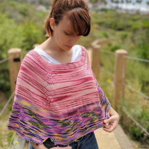Wallflower Capelet Pattern - Pattern