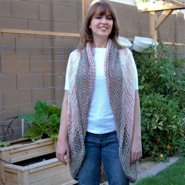 Watercolor Shrug - Knitting Kit