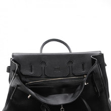 Load image into Gallery viewer, HERMES Taurillon Clemence Birkin 35 Black