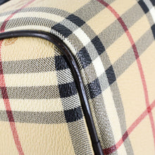 Load image into Gallery viewer, BURBERRY Haymarket Bowling Bag