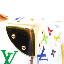 Load image into Gallery viewer, LOUIS VUITTON White Monogram Multicolore Speedy 30 Bag