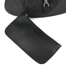 Load image into Gallery viewer, GUCCI Soft Leather Hobo Bag in Black