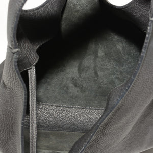 GUCCI Soft Leather Hobo Bag in Black