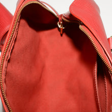 Load image into Gallery viewer, LOUIS VUITTON Soufflot Red EPI Leather Satchel