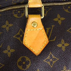 LOUIS VUITTON Monogram Canvas Speedy Bandouliere 35