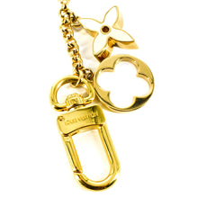 Load image into Gallery viewer, LOUIS VUITTON Fleur De Monogram Bag Charm Chain