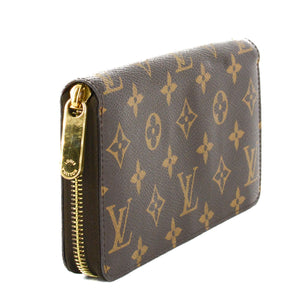 LOUIS VUITTON Zippy Wallet Monogram Canvas